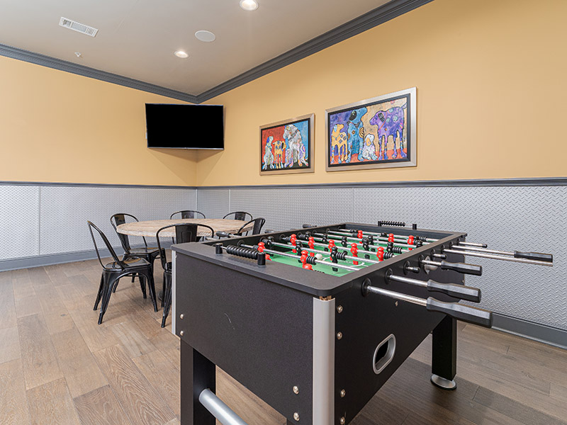 Foosball  | Cascadia Apartments in San Antonio, TX
