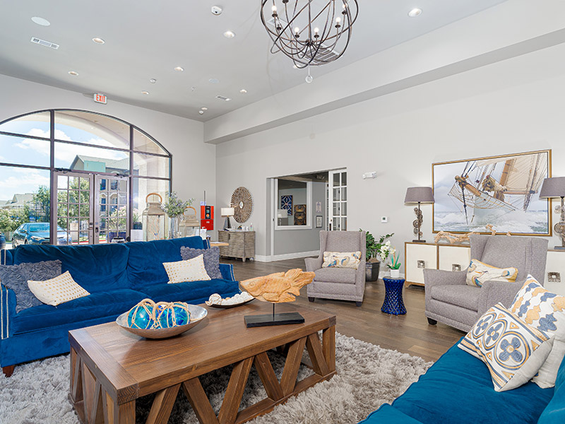 Lobby | Cascadia Apartments in San Antonio, TX