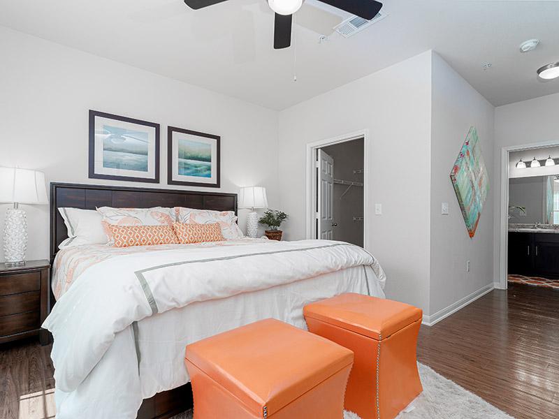 Spacious Bedrooms | Cascadia Apartments
