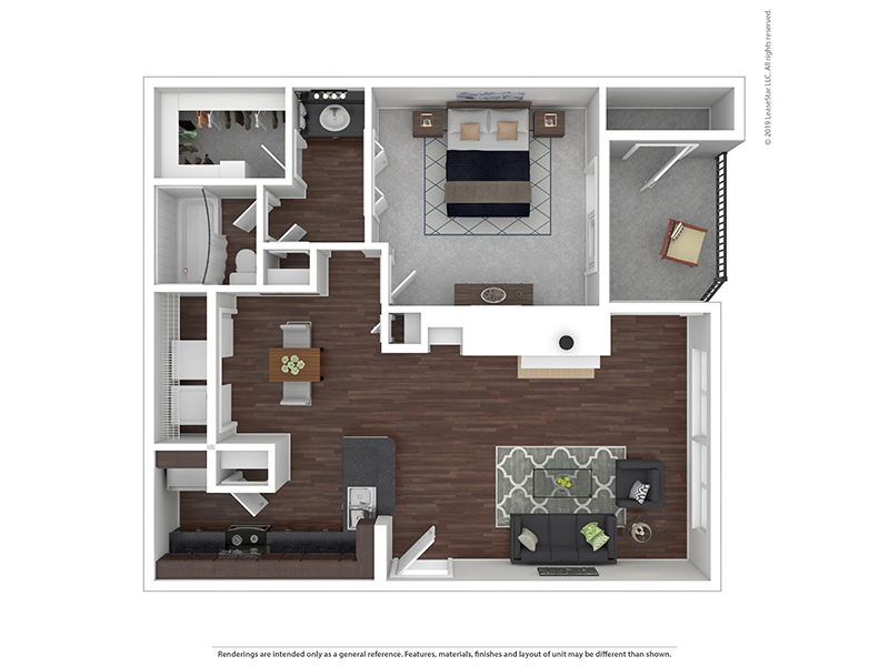 Our 1x1A4 W/D is a 1 Bedroom, 1 Bathroom Apartment