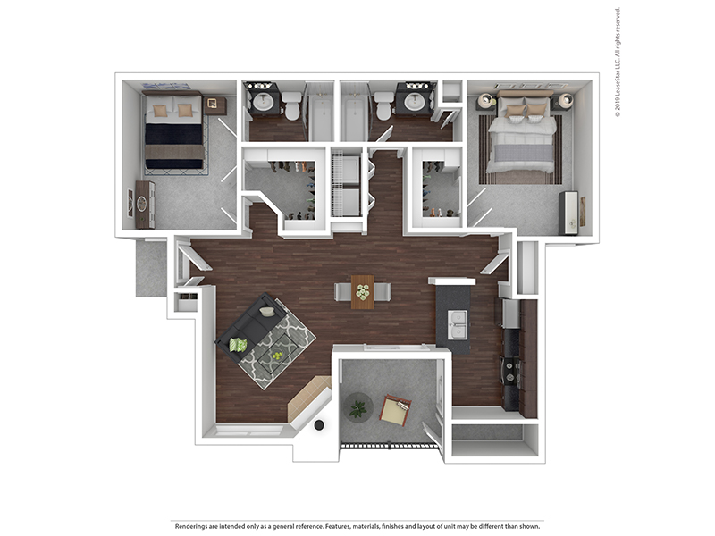 Our 2x2B2 W/D is a 2 Bedroom, 2 Bathroom Apartment