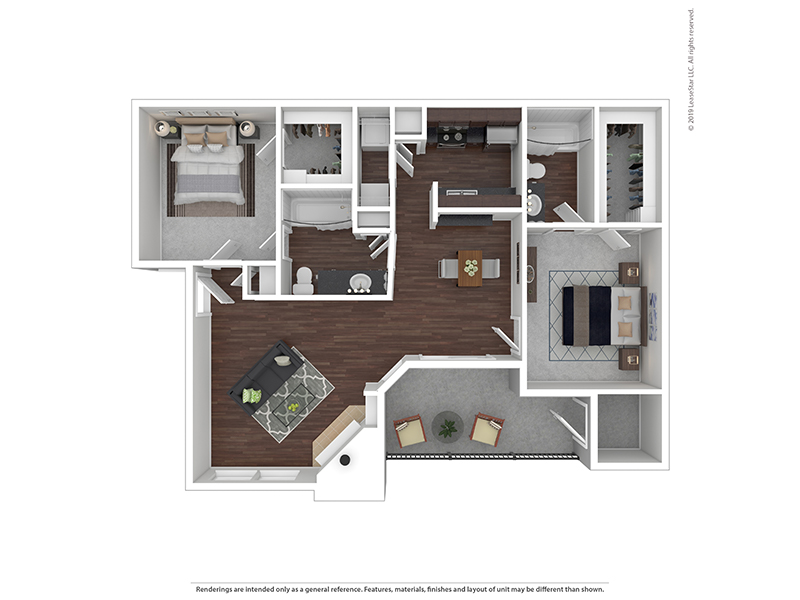 Our 2x2B3 W/D is a 2 Bedroom, 2 Bathroom Apartment