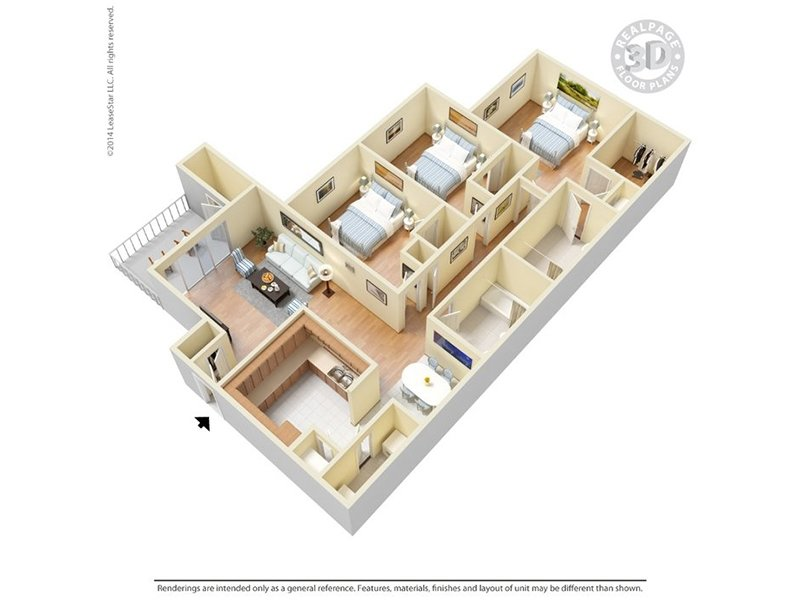 Floor Plans at Central Park Apartments