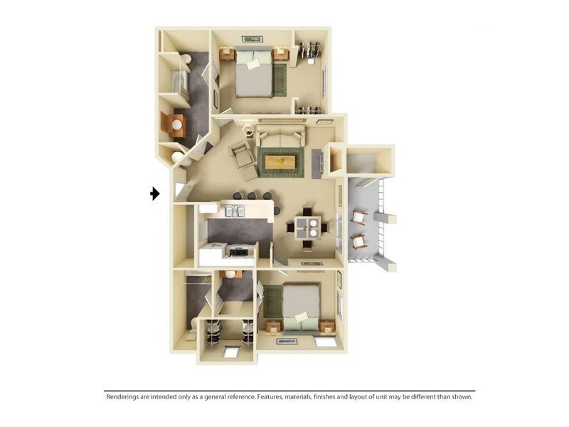 Floor Plans at Hill Country Villas Apartments
