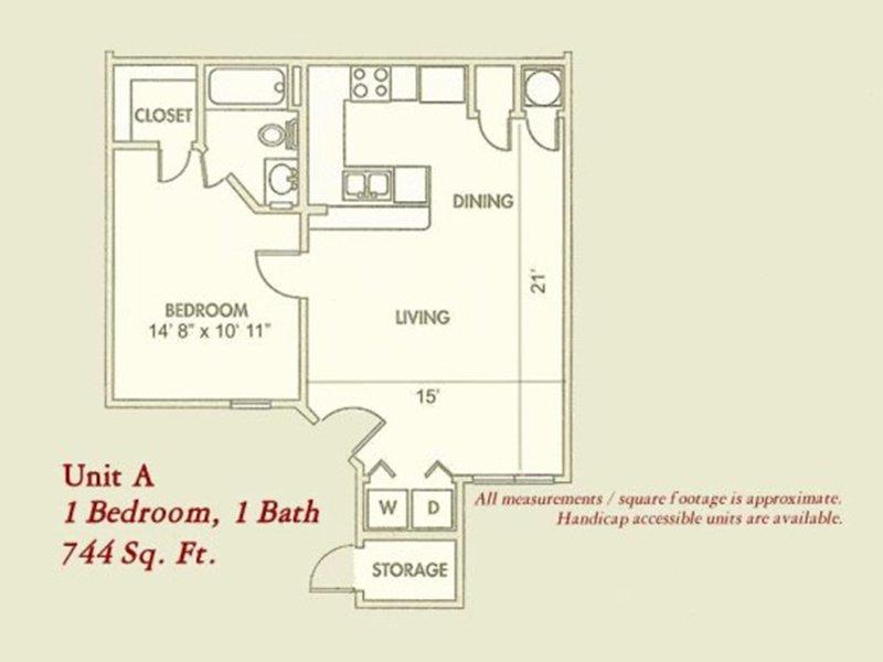 Floor Plans at The Gateway at Lake Jackson Apartments
