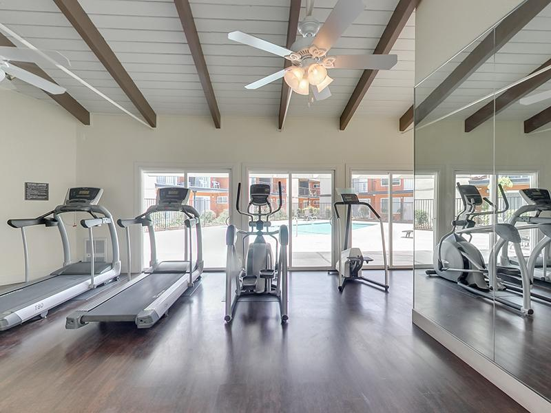 Fitness Center | Park Tower Apartments