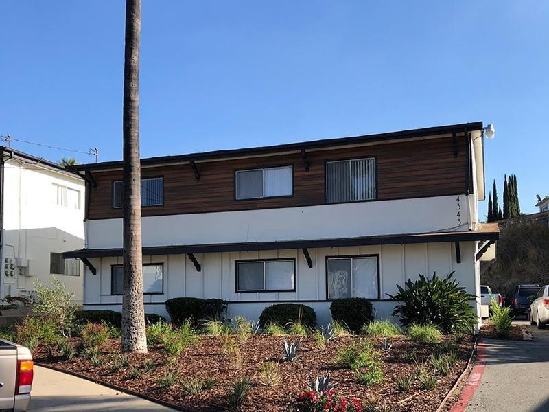 Exterior View   Echo Point Apartments in La Mesa, CA