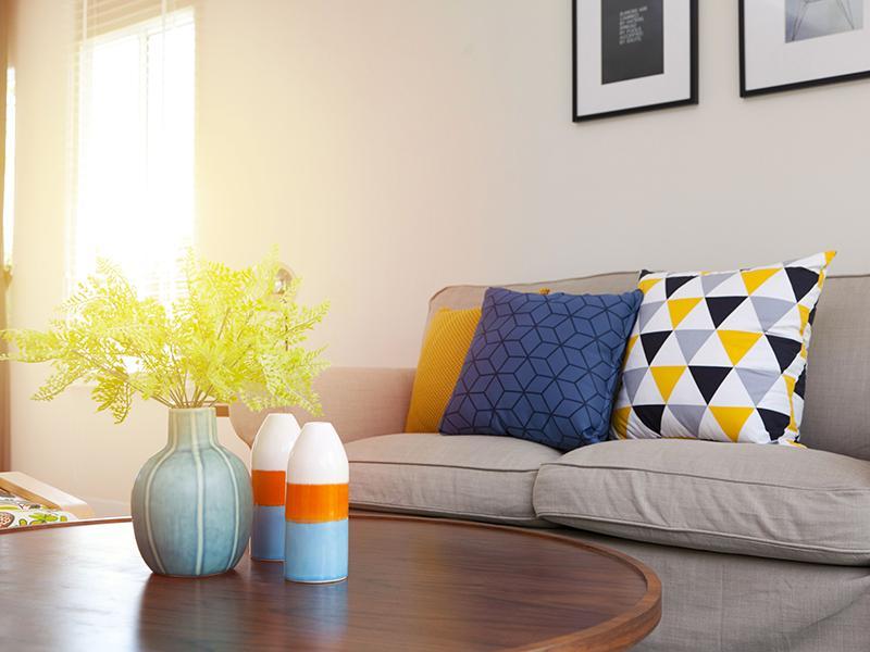 Living Room   Echo Point Apartments in La Mesa, CA