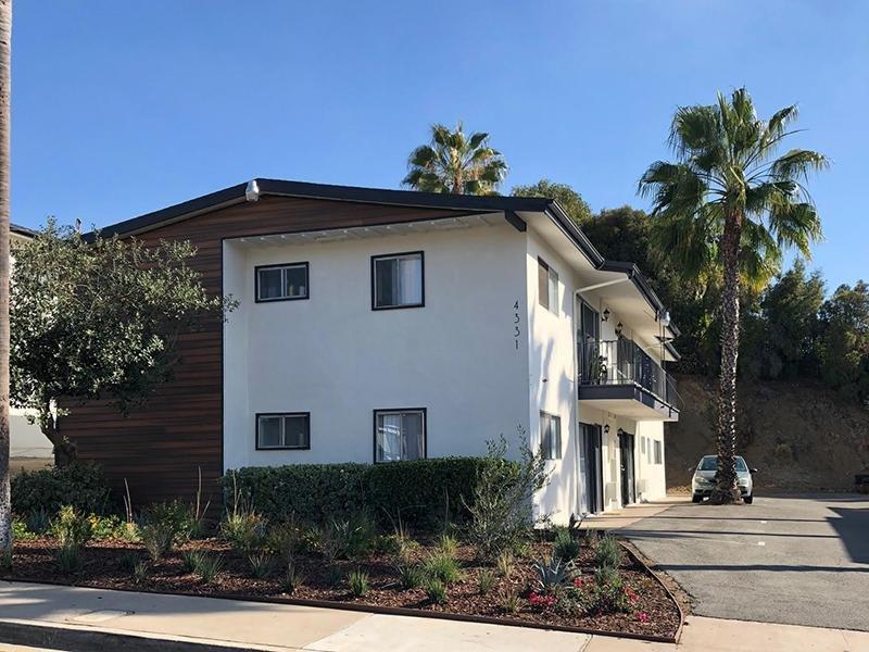 Building Exterior   Echo Point Apartments in La Mesa, CA