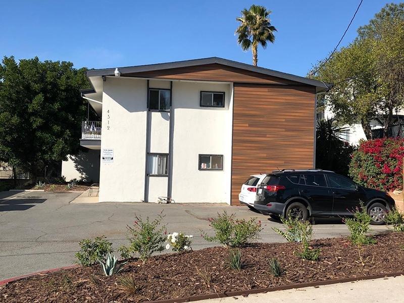 Parking Lot   Echo Point Apartments in La Mesa, CA