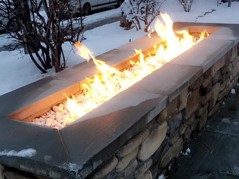 Fire Pit | Layton Meadows Apartments