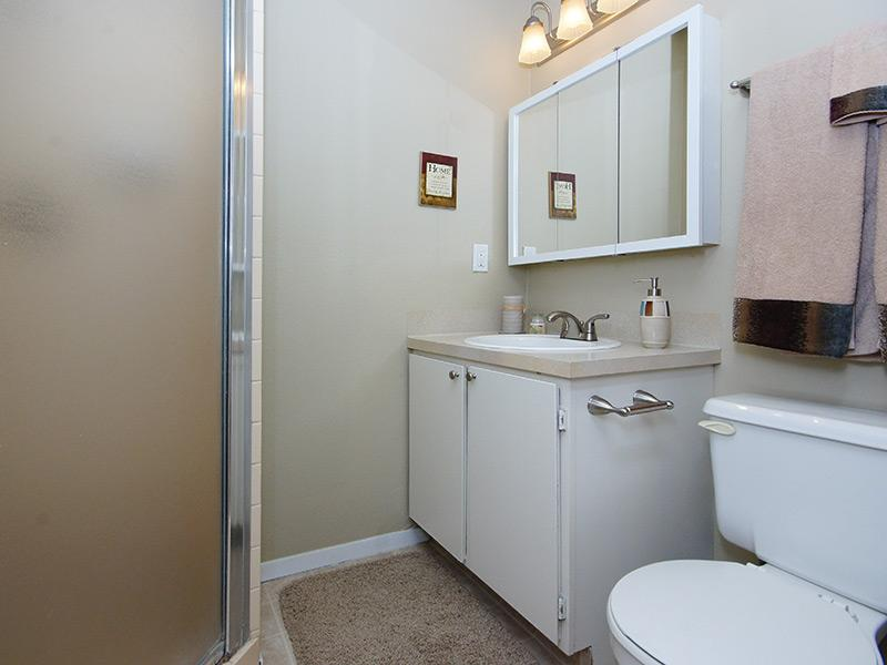 Bathroom | Layton Meadows Apartments in Layton, UT