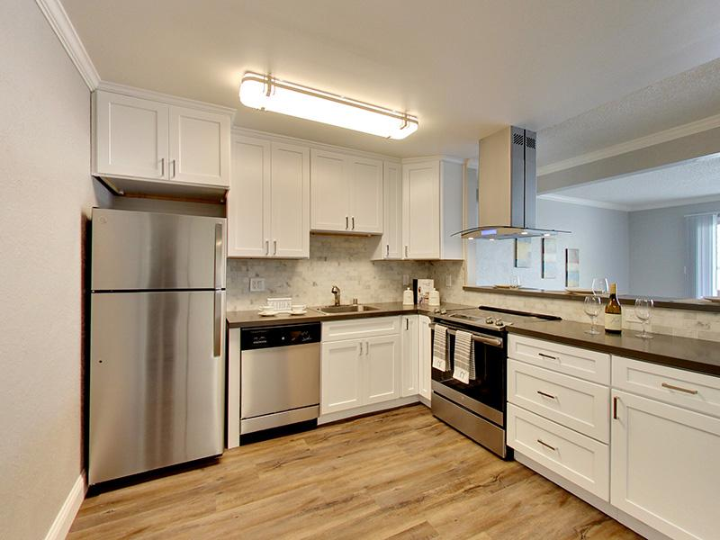 Stainless Steel Appliances | Sunset Pines Apartments