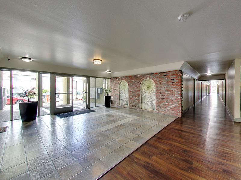 Front Lobby | Sunset Pines Apartments