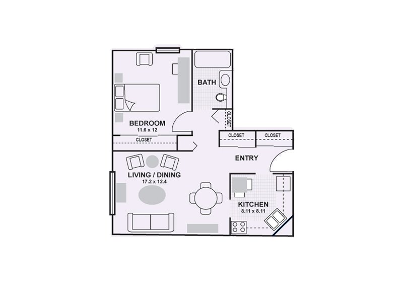 Floor Plans at Lilac Apartments