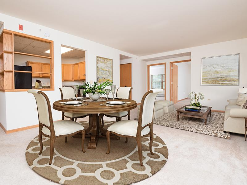 Model Dining Area | Lilac Apartments