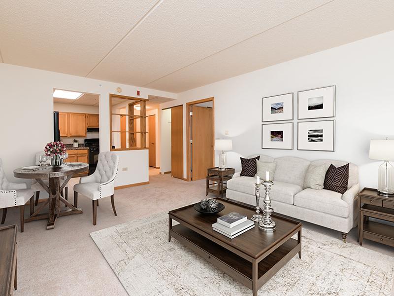 Model Living Room | Lilac Apartments