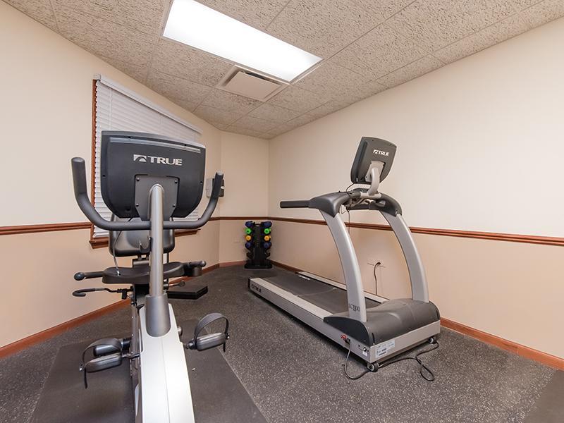 Gym | Lilac Apartments