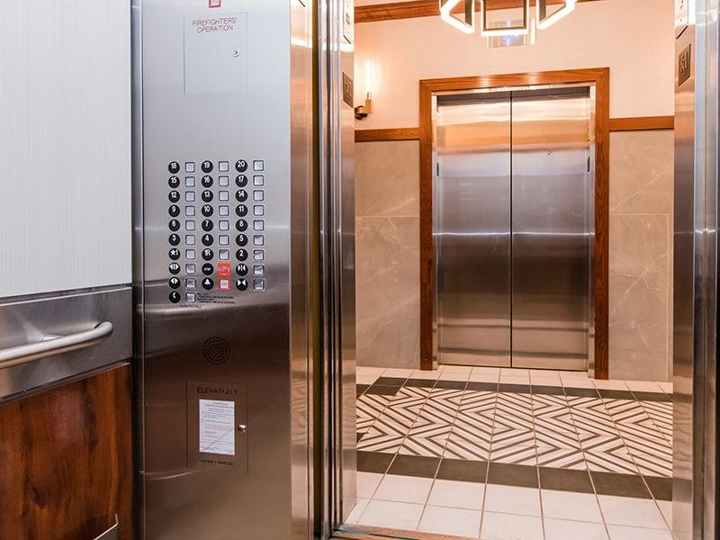 Elevator Interior | Maple Pointe