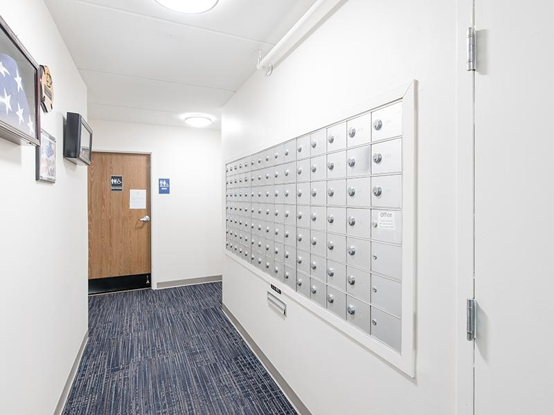 Mail Room | Centennial North Apartments in Mount Prospect, IL