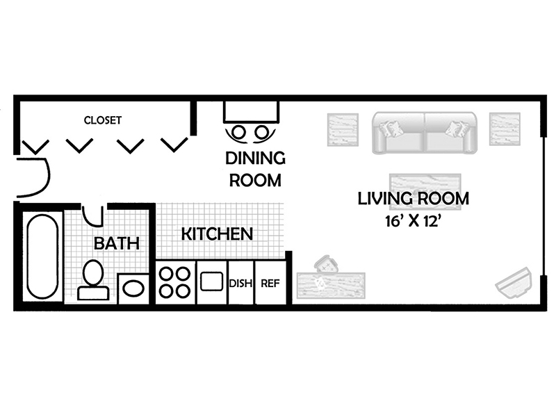 Floor Plans at Riverstone Apartments