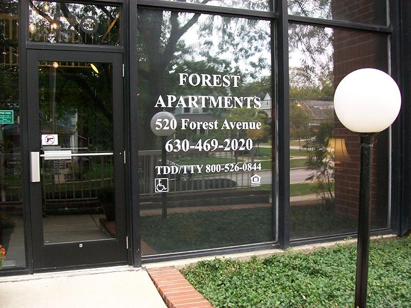 Entry   Forest Apartments