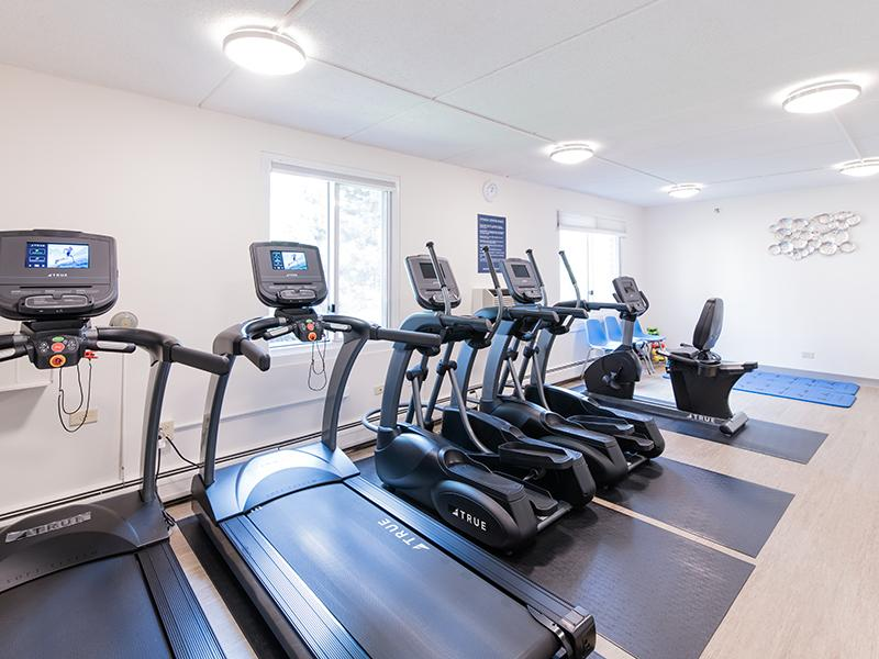Gym | Centennial South Apartments in Mount Prospect, IL