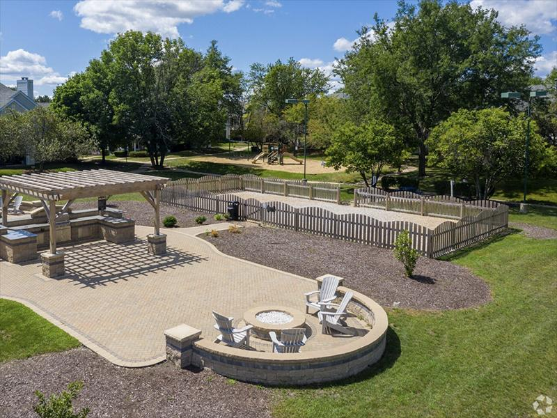 Firepit | The Arbors of Brookdale Apartments
