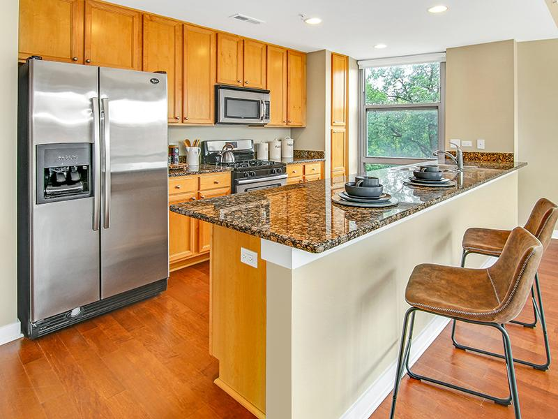 Fully Equipped Kitchen | Kingston Pointe Apartments