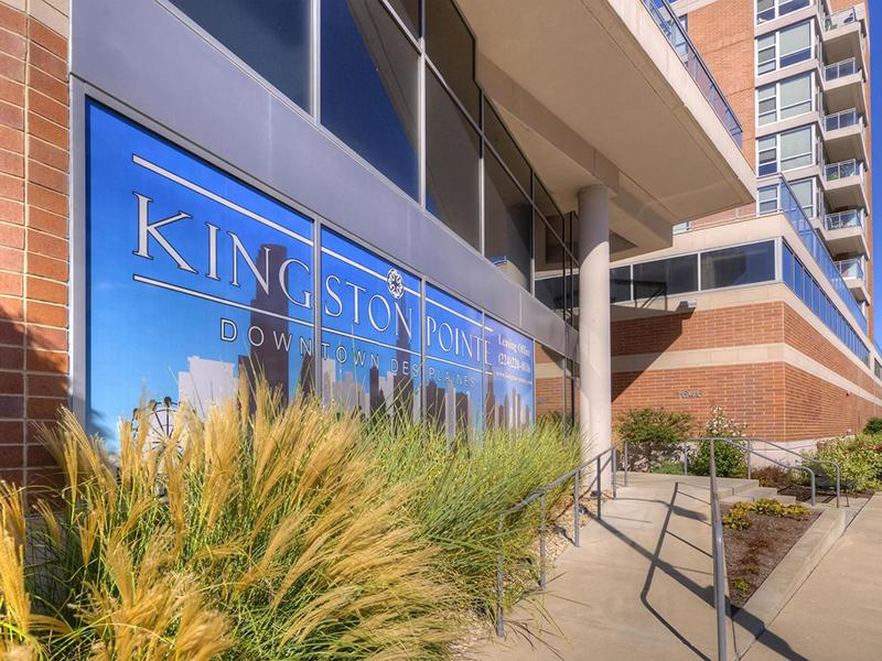 Property Entrance  | Kingston Pointe Apartments