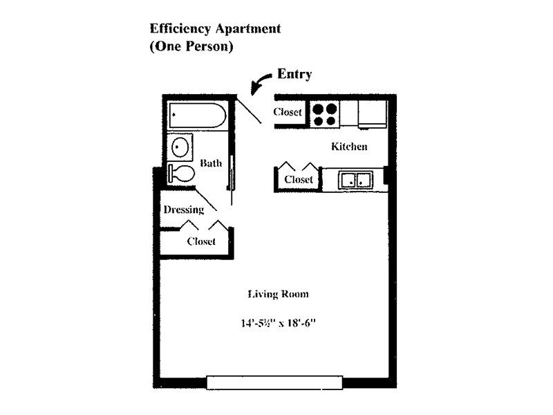 Floor Plans at Westwind Towers Apartments