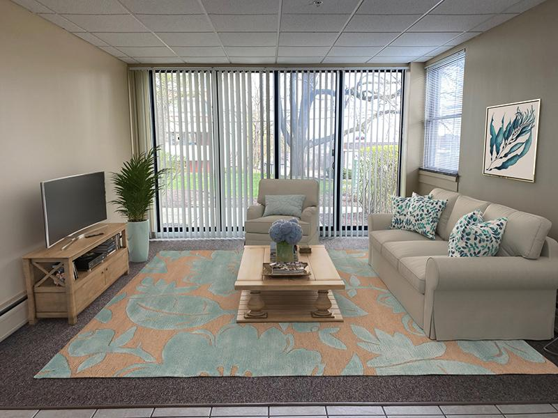 Living Room | Westwind Towers