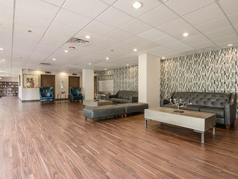 Lobby | Westwind Towers Apartments in Elgin, IL