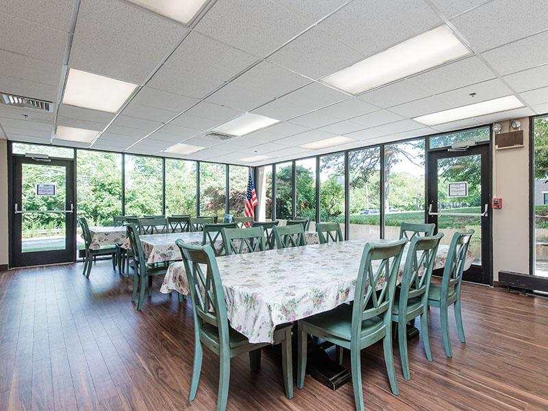 Community Dining Area | Westwind Tower Apartments