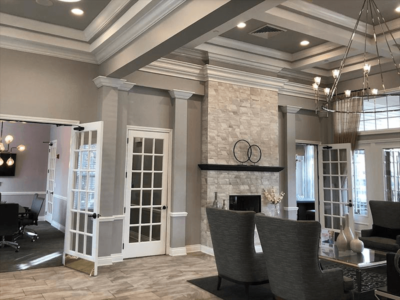 Clubhouse Interior | River Run at Naperville