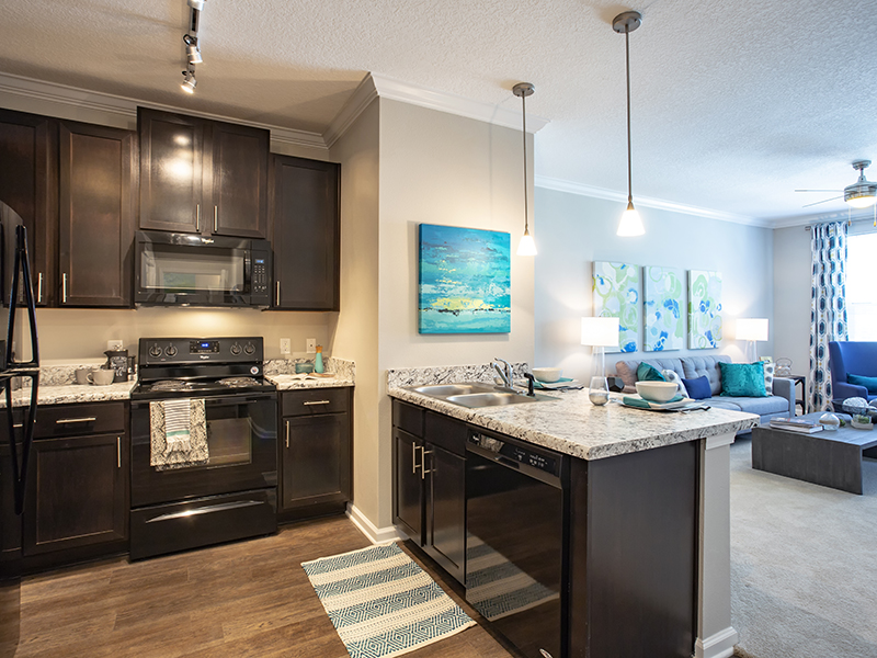 Fully Equipped Kitchen   Atlantic on the Avenue