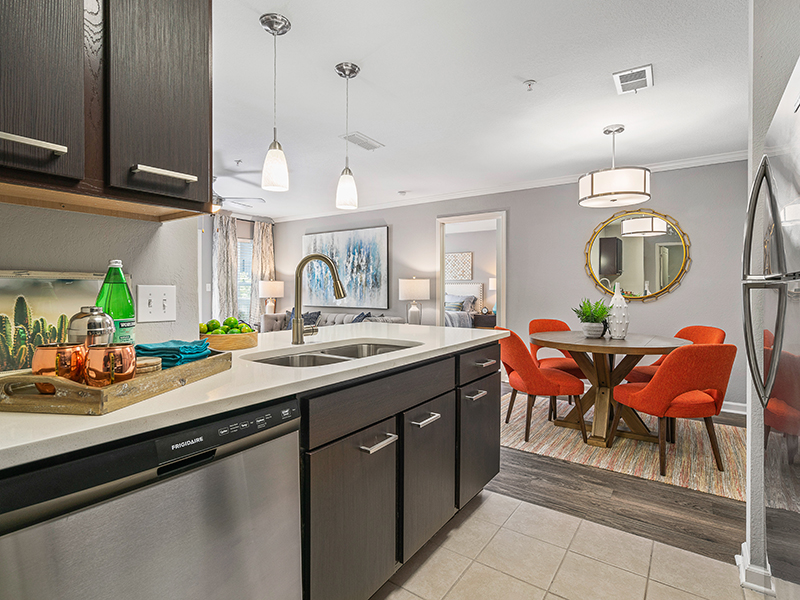Model Fully Equipped Kitchen | Latitude at Wescott