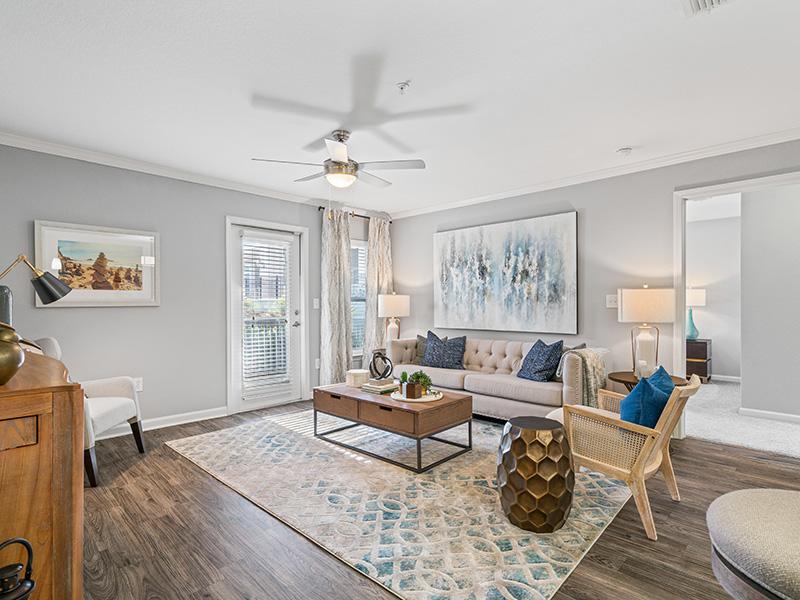 Model Living Room | Latitude at Wescott