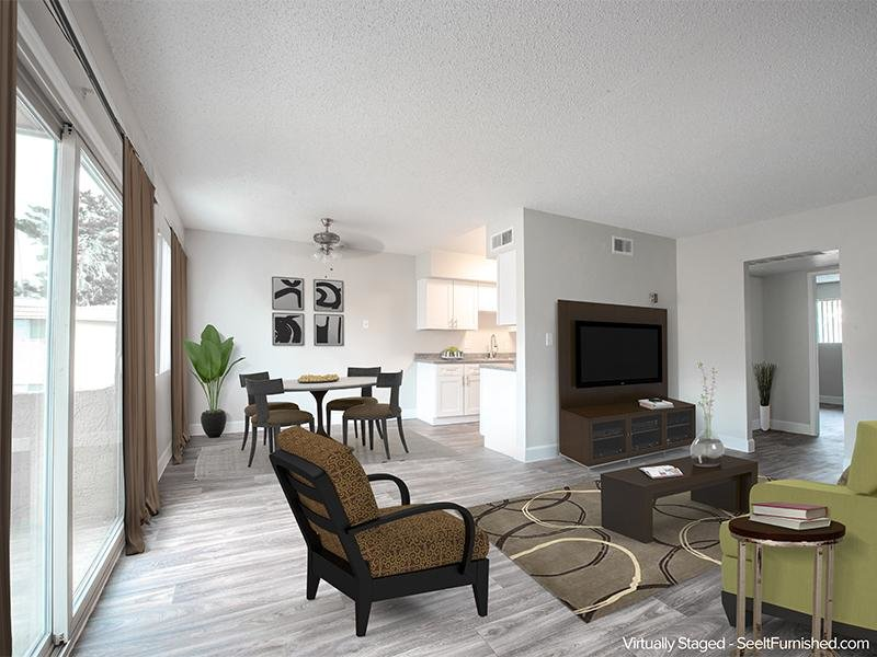 Living Area | Park Village Apartments