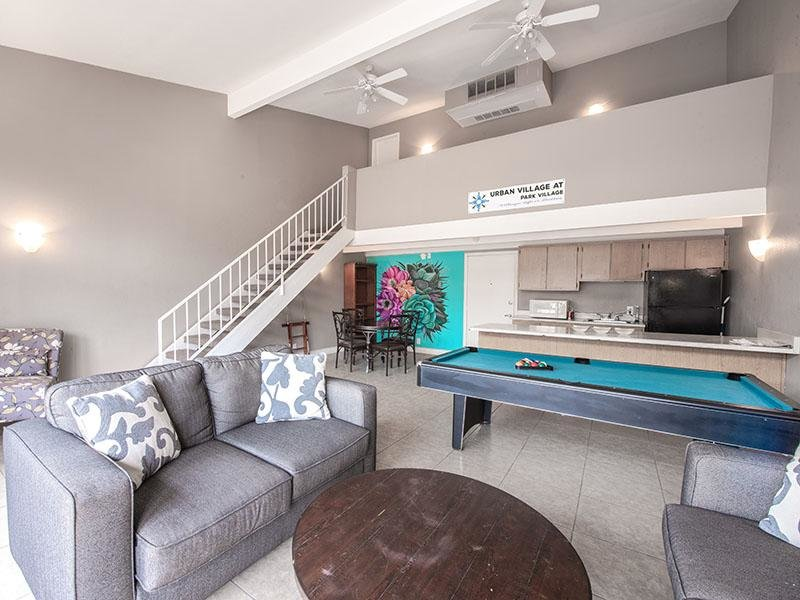 Game Room  | Park Village Apartments