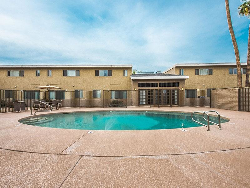 Hot Tub  | Park Village Apartments