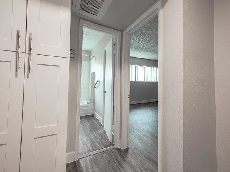 Linen Closet  | Park Village Apartments