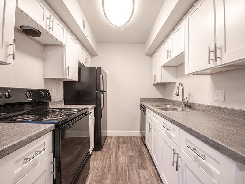 Kitchen  | Park Village Apartments