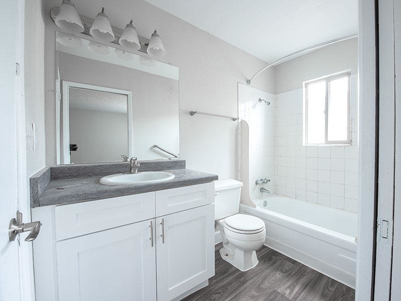 Bathroom | Park Village Apartments