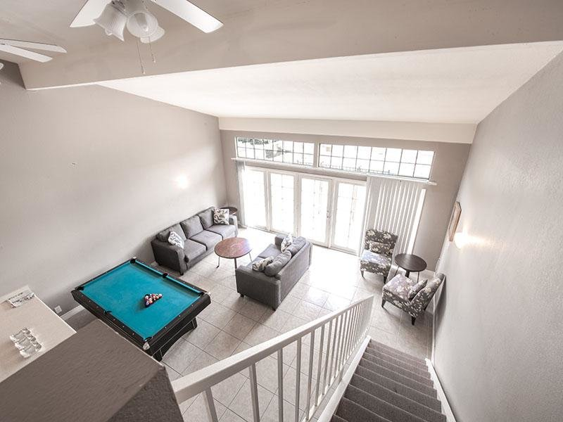 Billiards Table | Pool | Park Village Apartments
