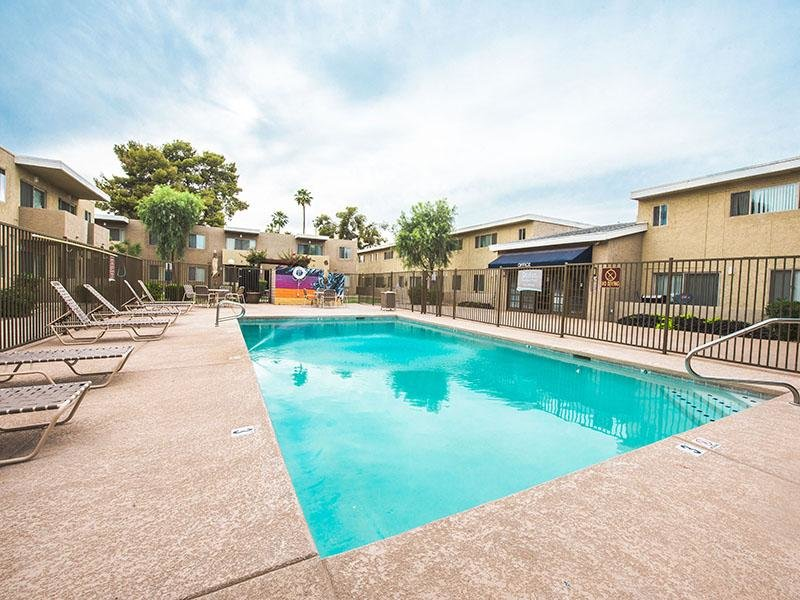Pool  | Park Village Apartments