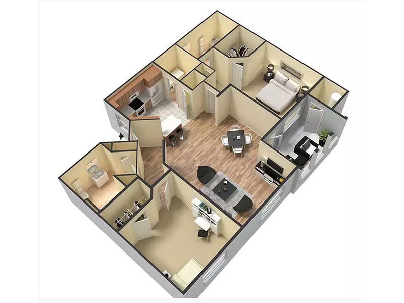 Floor Plans at San Valiente Apartments