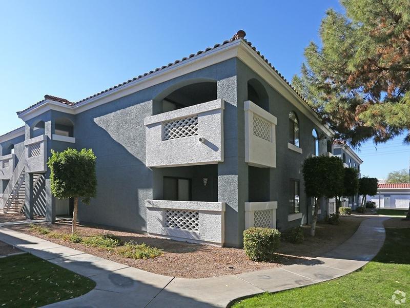 Building Exterior | San Valiente Apartments