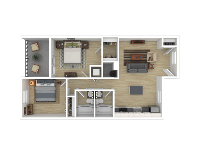 Floor Plans at 1133 West Fifth Apartments