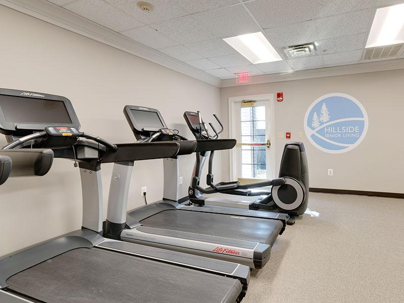Fitness Center | Hillside Senior Living Community